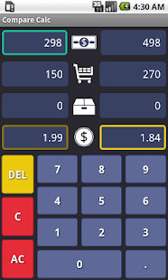 Compare Calc : Unit Price- screenshot thumbnail