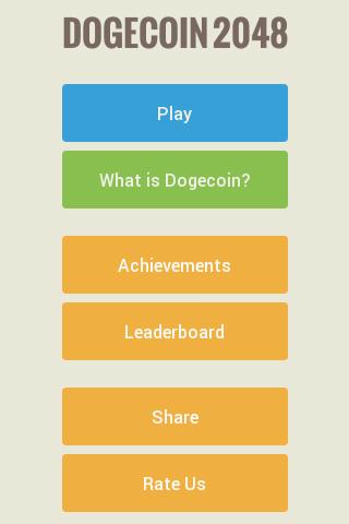 Dogecoin 2048