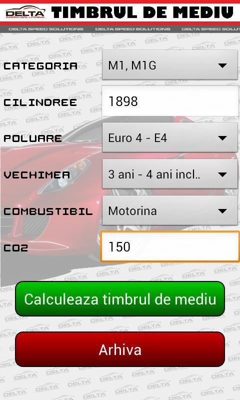 Calcul timbru de mediu 2013 - screenshot