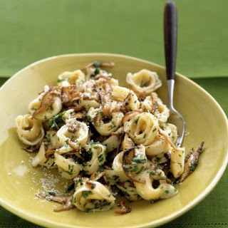 Tortellini with Mushroom Sauce