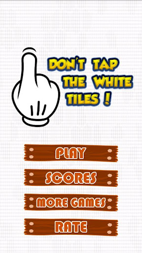 Don't Tap The White Tiles