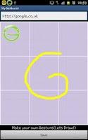 Screenshot of My Gesture Shortcut Launcher