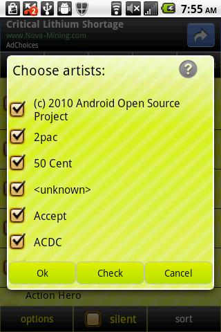 MP3 Ringtones Picker - screenshot