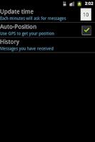 Screenshot of Rain Messenger