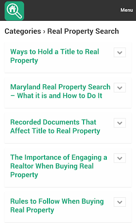 Property Search Tips 1.0 screenshot 10078