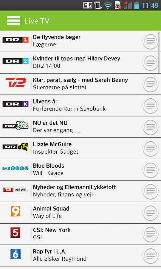 YouBio og TV - screenshot