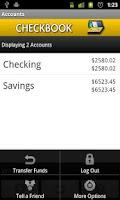 Screenshot of Checkbook