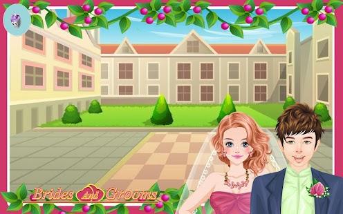 Brides and Grooms - dress up 家庭片 App-愛順發玩APP