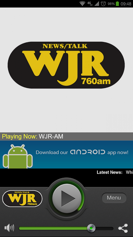 WJR-AM - screenshot