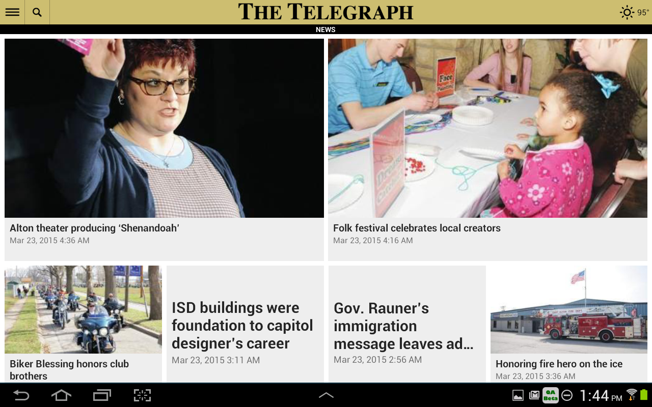 Alton Telegraph- screenshot
