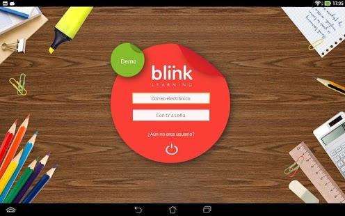 BlinkLearning - náhled
