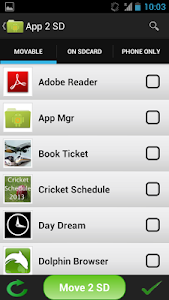 Application Manager screenshot 2
