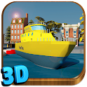 Boat Driving 3D Simulator icon