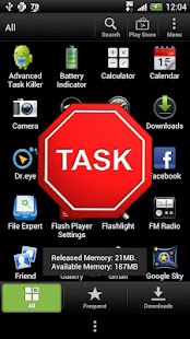 Droid Task Killer- screenshot thumbnail