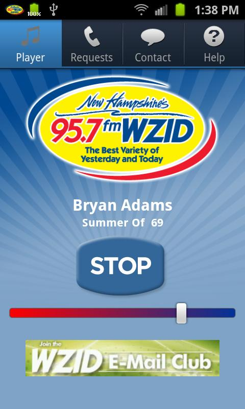 95.7 WZID - screenshot