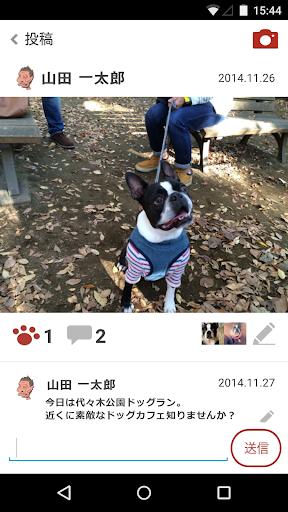 無料社交Appのdogg.me camera(ドッグミーカメラ)犬専用カメラ|記事Game