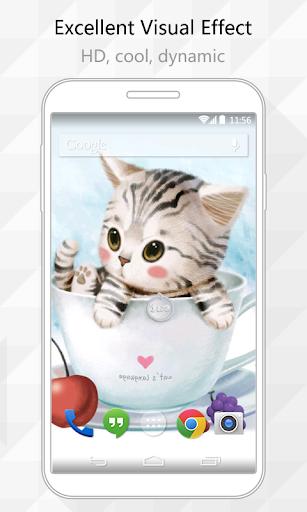 Little Cat Live Wallpaper