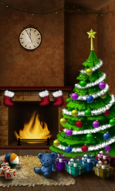 Xmas Live Wallpaper - screenshot