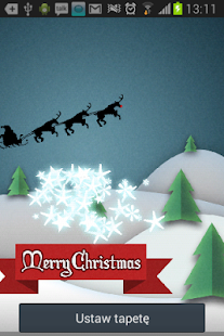 Xmas HOLIDAY LIVE WALLPAPER HD - screenshot thumbnail