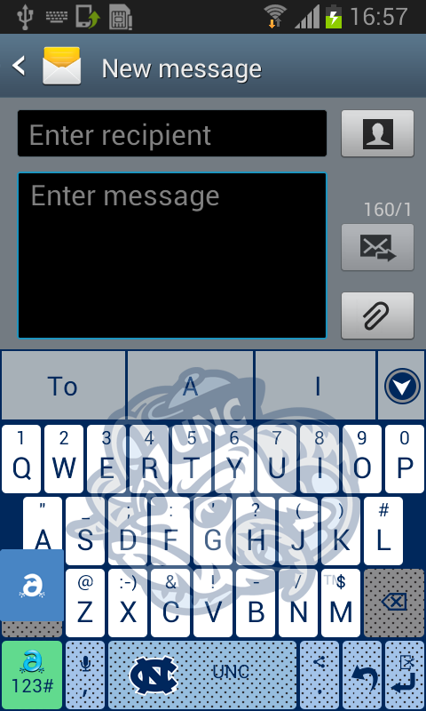 North Carolina Keyboard - screenshot