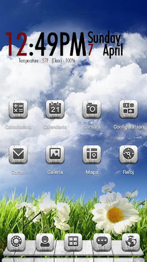 Aryel Next Launcher 3D Theme
