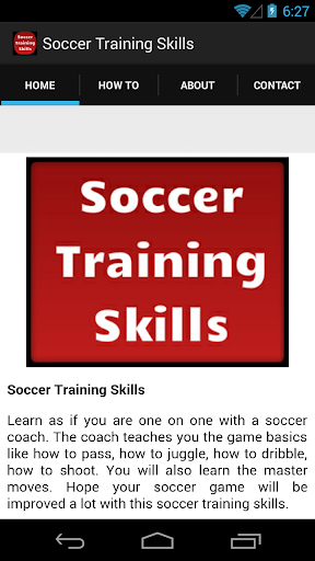 【免費運動App】Soccer Training Skills-APP點子