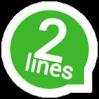 2lines for Wassapp ?
