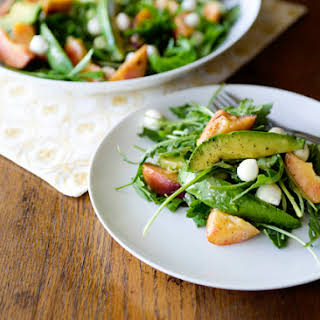 Fresh Peach Salad Recipes.