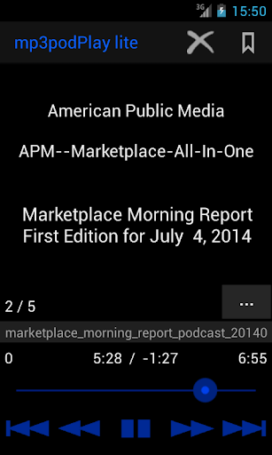 mp3podPlay lite Podcast Player