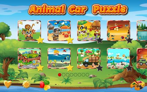 Animal Car Puzzles