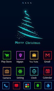 Christmas Eve GO Getjar Theme - screenshot thumbnail