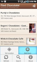 Screenshot of Find Chocolate!