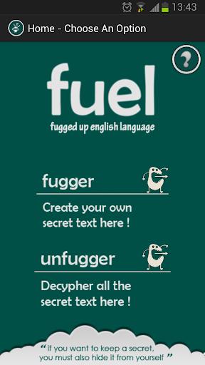 Fuel - Send Secret Messages