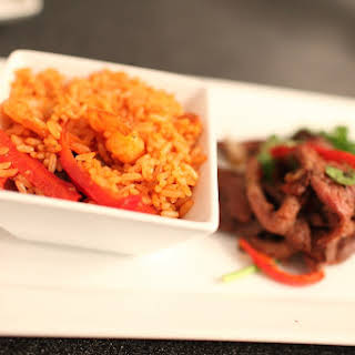 Dvees Jollof Rice.