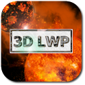 3D Space Live Wallpaper Free icon