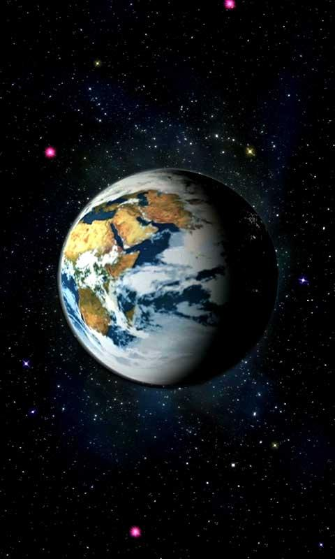 Virtual Earth Live Wallpaper - screenshot