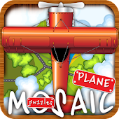 Animated puzzles plane