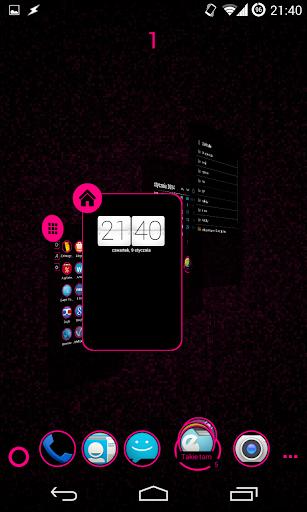 免費個人化App|TSF Shell Theme Holo Pink|阿達玩APP