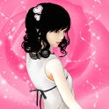 폰꾸미기 핑크빛러블리 나비Girl icon