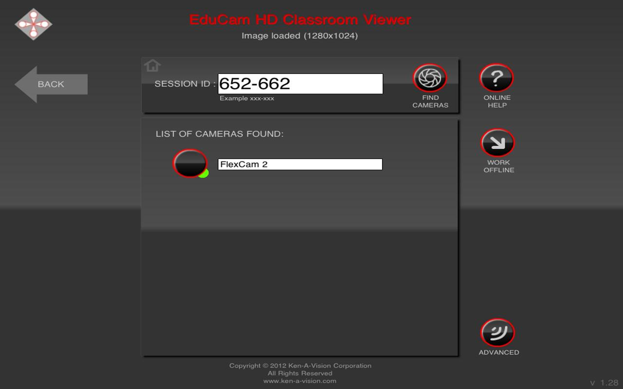 EduCam Classroom Viewer - screenshot