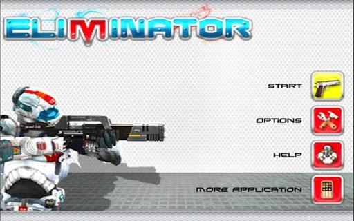 エリミネーター - 3Dシューティングゲーム