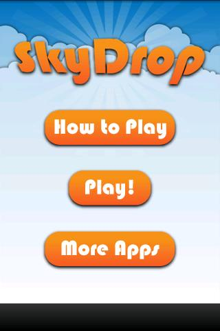 SkyDrop - screenshot