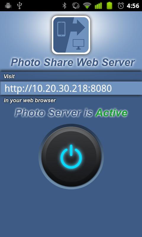 Photo Share Web Server- screenshot