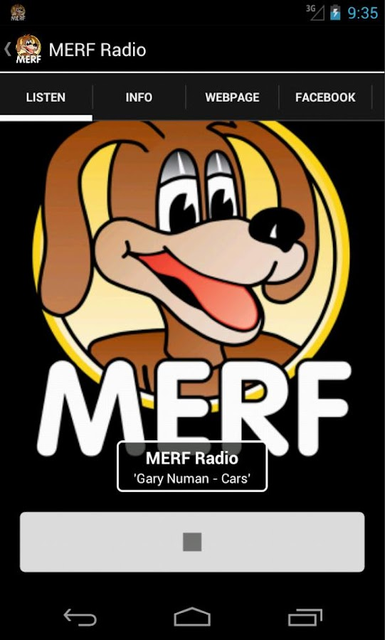 MERF Radio - screenshot