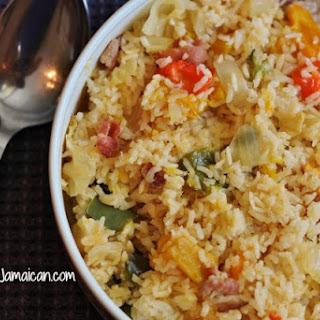 Jamaican Seasoned Rice.