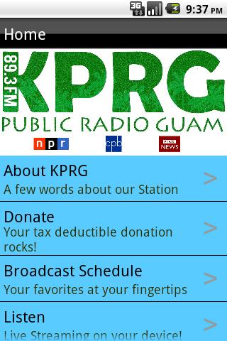 KPRG Public Radio for Guam