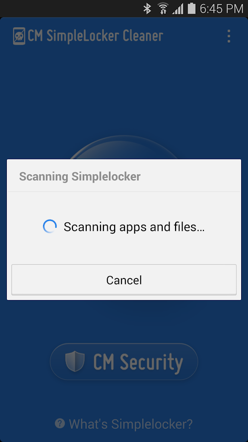 Simplelocker Cleaner- screenshot
