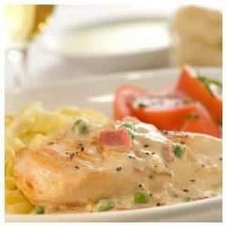 Chicken Carbonara.