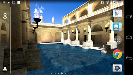 Roman Bath 3D Live Wallpaper APK screenshot thumbnail 15