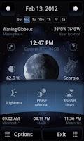 Screenshot of Deluxe Moon - Moon Calendar